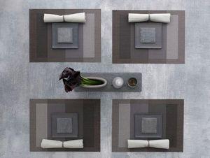 CHILEWICH - indigo slate color tempo - Set De Table