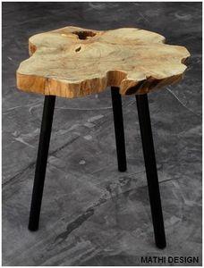 Mathi Design - table basse d'appoint scandinave - Bout De Canapé