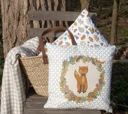Clayre & Eef -  - Coussin Carr�