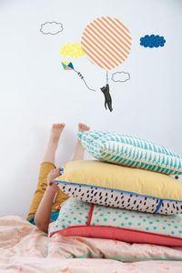 Mimi Lou -  - Sticker Décor Adhésif Enfant