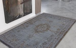 Louis De Poortere - grey ebony 8257 - Tapis Contemporain