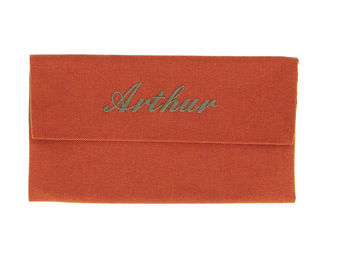 BY MATAO -  - Pochette Range Serviette De Table