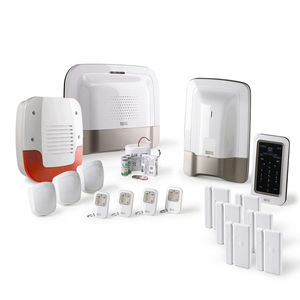 CFP SECURITE - alarme maison gsm delta dore tyxal + kit n°4 - Alarme