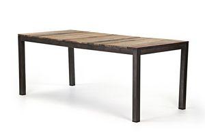 Pilma - table à manger - Table De Repas Rectangulaire
