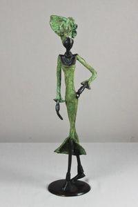 FARAFINA TIGNE - LA REALITE DE L'AFRIQUE -  - Statue