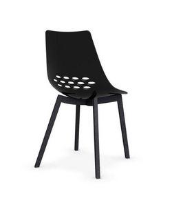 Calligaris - chaise jam w de calligaris piétement graphite - Chaise