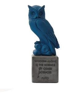SOPHIA - sophia owl.- - Sculpture Animalière