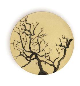 THREE SEVEN - branches - Assiette Plate