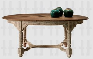 Asitrade - q275 - Table De Repas Ovale