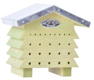 BEST FOR BIRDS - refuge à abeilles en bois et zinc - Ruche