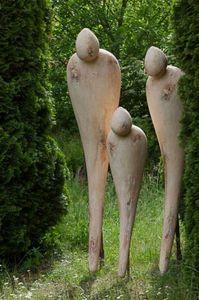 ROBERT ARNOUX - tous les trois - Sculpture