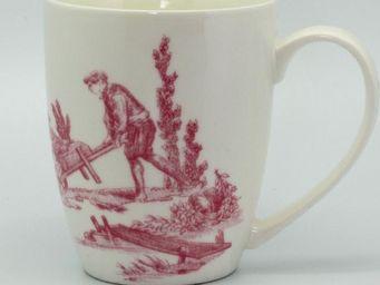 DE JOUY - -'coffret de 2 - Mug