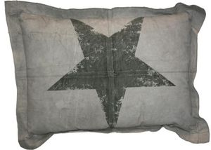 BYROOM - star print - Coussin Rectangulaire