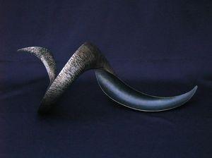 ELIE HIRSCH - corne - Sculpture