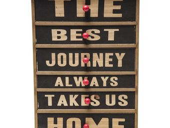 Kare Design - boîte drawer the best journey - Boite Décorative