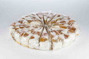 LES  NOUGATS STANISLAS - tarte de nougat� peche melba - Confiserie