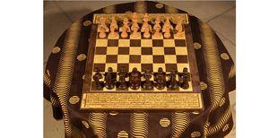 MARCHAND DE SABLES - tibet - Jeu D'échecs