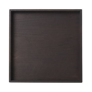 LOUISE ROE COPENHAGEN - tray smoked oak wood - Plateau