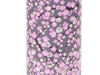 QWETCH - 300ml th�i�re nomade iso inox bross� washi gris violet - Autour Du Th�