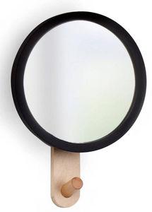 Umbra - patère miroir hub - Miroir