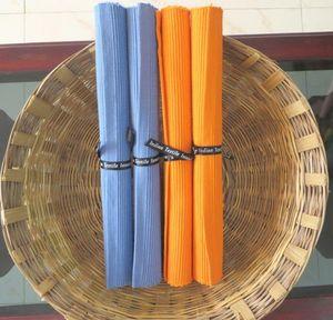 ITI  - Indian Textile Innovation - solid rib - Set De Table