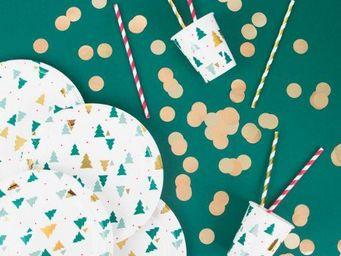 MY LITTLE DAY - sapins de noël - Vaisselle De Noël Et Fêtes