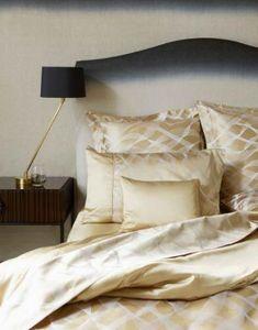 GINGERLILY - rubans gold - Taie D'oreiller