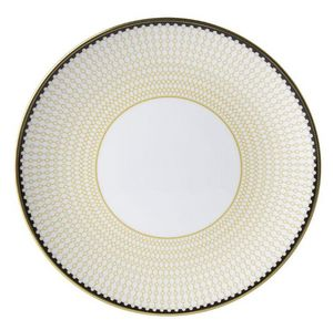 ROYAL CROWN DERBY - oscillate ochre - Assiette Plate