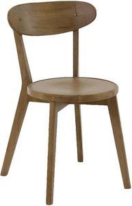 INWOOD - chaise style bistrot bois d'orme (lot de 2) modèl - Chaise