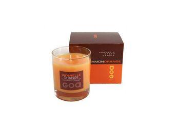 CLEM - bougie crème goa cannelle orange - Bougie Parfumée
