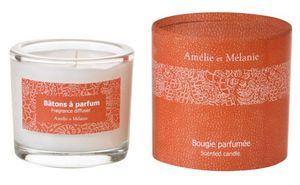 Amelie et Melanie - hespéridé fruité - Bougie Parfumée