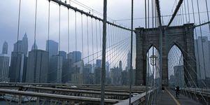 Nouvelles Images - affiche pont de brooklyn new york - Affiche