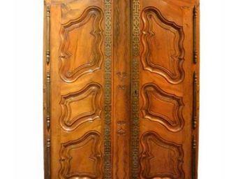 DS Antiquités - provençale - Armoire À Portes Battantes