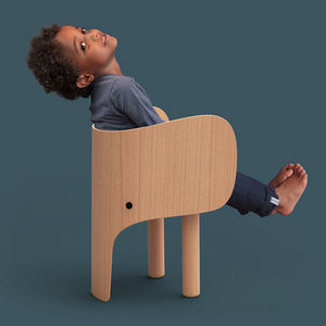 EO - -elephant - Chaise Enfant
