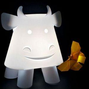 Officina Crea - mucca - Lampe À Poser