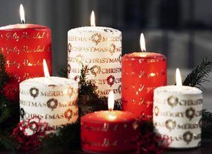 Pernici -  - Bougie De Noël