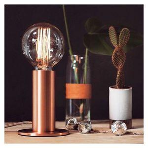 Mathi Design - lampe tactile cuivre, or ou noir - Lampe À Poser