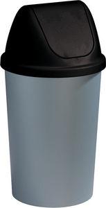 Sunware Garden - poubelle 45 l avec couvercle bombé twinga - Poubelle De Cuisine