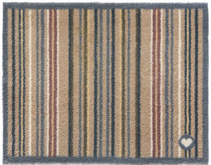 HUG RUG - tapis en fibres naturelles à rayures 65x150 cm - Paillasson