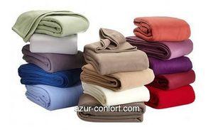 Azur Confort - plaid - Couverture Polaire