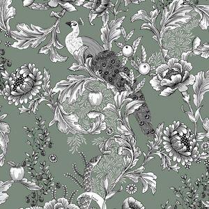 ISIDORE LEROY - eden lichen-- - Papier Peint