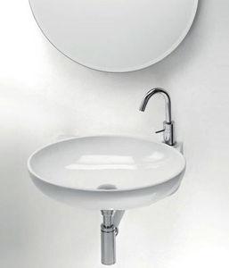 CasaLux Home Design - thin ovale - Lavabo Suspendu