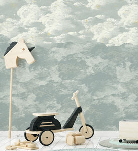 ISIDORE LEROY - cosmos jour- - Papier Peint Enfant