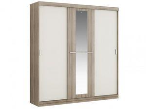 WHITE LABEL - armoire didda - Armoire Lingère