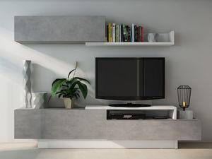 Vente-Unique.com - meuble tv monty - Meuble Tv Hi Fi