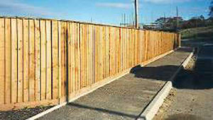 Bsw Timber -  - Clôture Pleine
