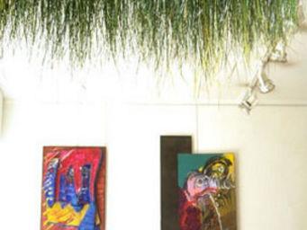 Hortus Verde - plafond d'herbe - Feuillage Stabilisé