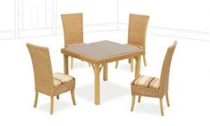 Habasco International -  - Table De Repas Carrée