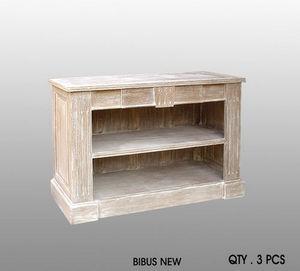DECO PRIVE - meuble bibus new beige ceruse - Bibus