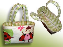 CréaFlo - sac à goûter ou de toilette cocci - Trousse De Toilette Enfant